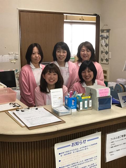 受付・スタッフ紹介
